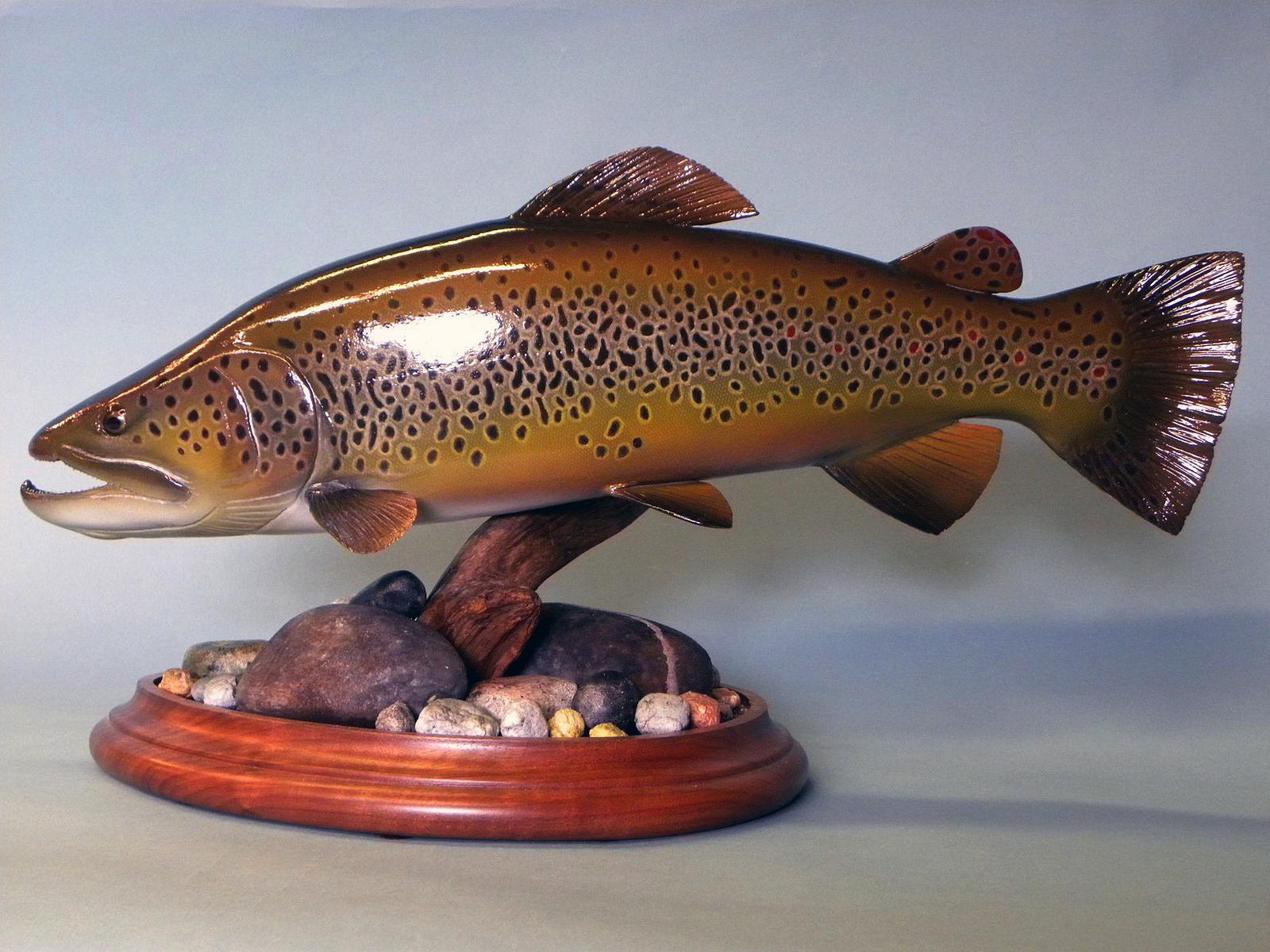D fish carvings gallery