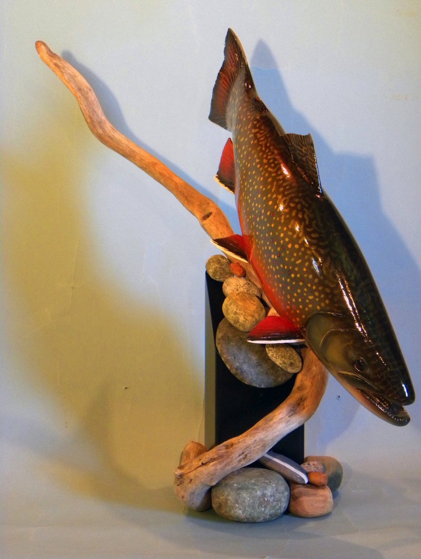 3d fish carvings gene bahrs wildlife creations united states