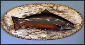 Brook Trout Carving